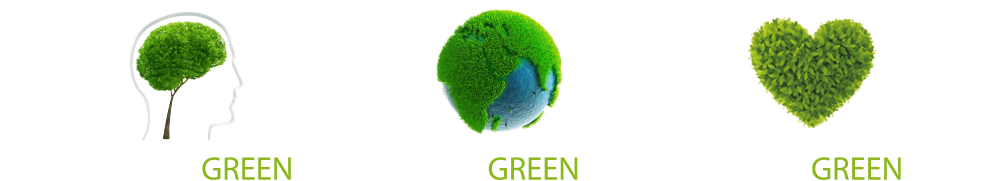 slogan green design